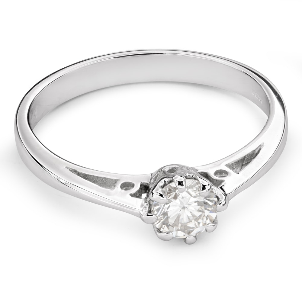 """Engagement ring with brilliant """"The only one 95"""""""