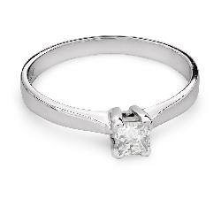 """Sužadėtuvių žiedas su Deimantu """"Princesė 68"""""""
