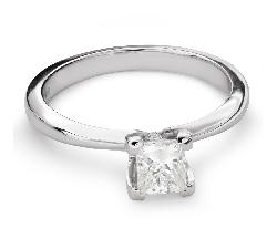 """Sužadėtuvių žiedas su Deimantu """"Princesė 70"""""""