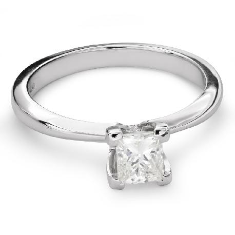 "Engagement ring with diamond ""Princess 70"""