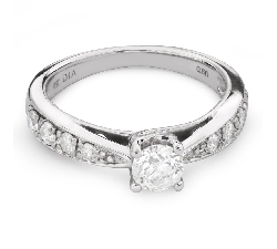"Engagment ring with brilliants ""Grace 109"""