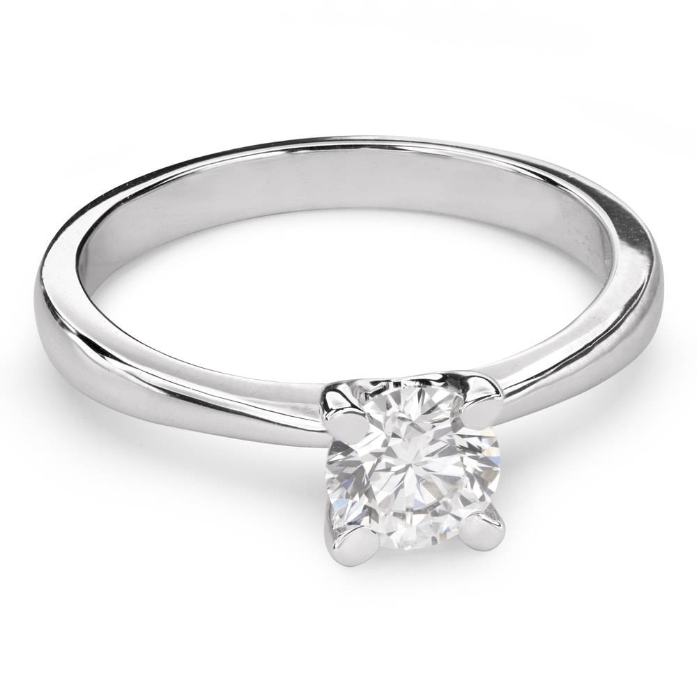"""Engagement ring with brilliant """"Goddess 105"""""""