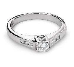 "Engagment ring with brilliants ""Grace 111"""
