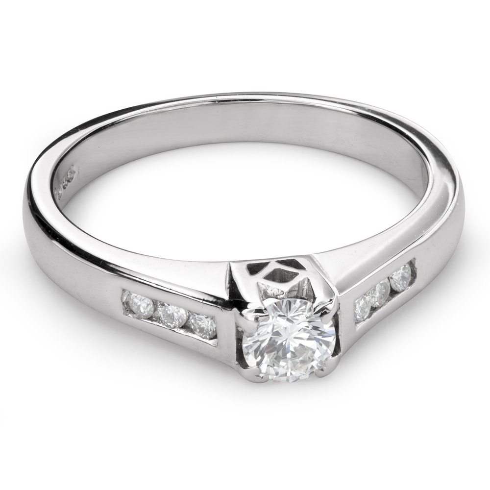 """Engagment ring with brilliants """"Grace 111"""""""