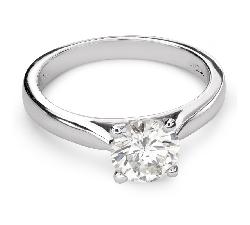 """Sužadėtuvių žiedas su Briliantu """"Dievaitė 111"""""""