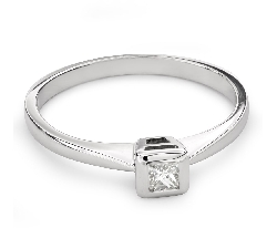 """Teemantiga kihlasõrmus """"Printsess 73"""""""