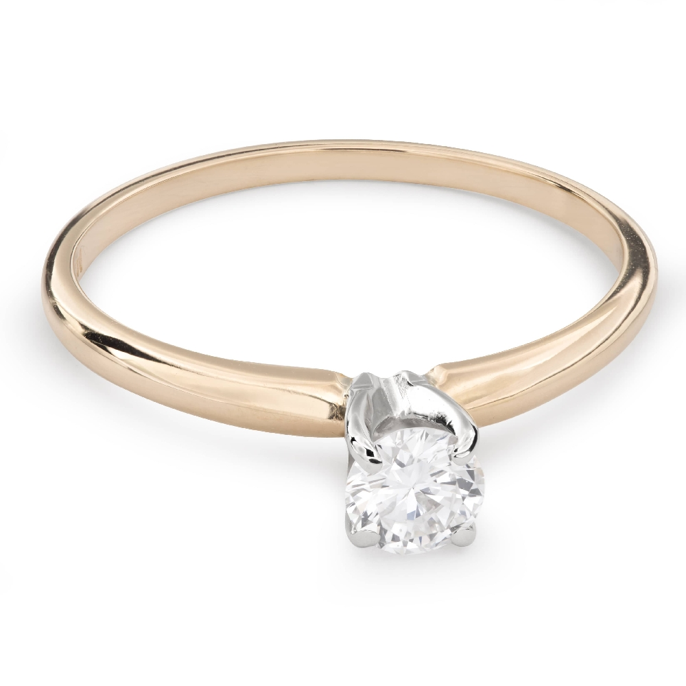 """Engagement ring with brilliant """"Goddess 109"""""""