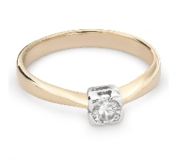 """Teemantiga kihlasõrmus """"Tugevus 98"""""""