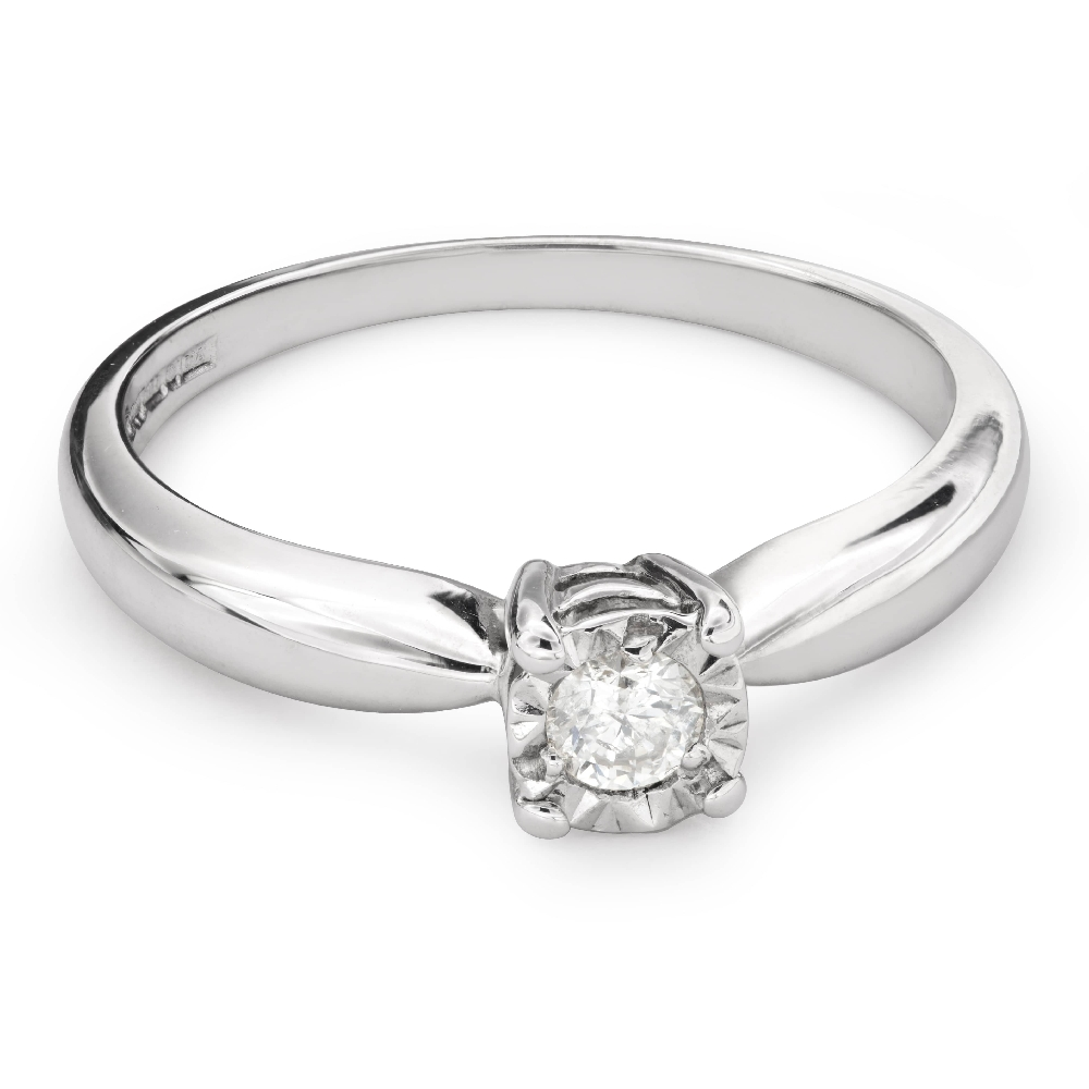 "Engagement ring with brilliant ""Lover 109"""