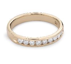 """Briljantidega kuldsõrmus """"Teemantidega lint 50"""""""