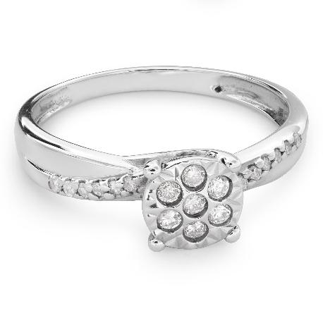 """Teemantidega kuldsõrmus """"Armastatu 115"""""""
