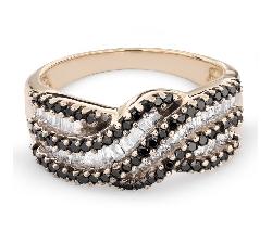 """Teemantidega kuldsõrmus """"Värvid 60"""""""