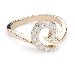 """Teemantidega kuldsõrmus """"Elu 32"""""""
