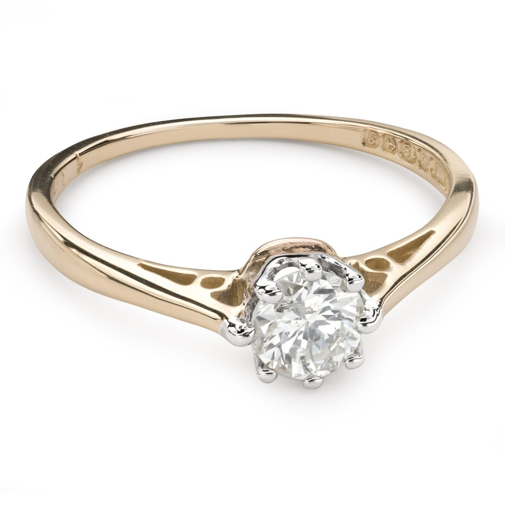 """Engagement ring with brilliant """"The only one 107"""""""