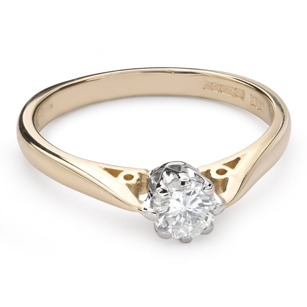 """Engagement ring with brilliant """"The only one 109"""""""