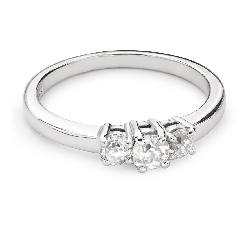 """Teemantidega kuldsõrmus """"Triloogia 35"""""""