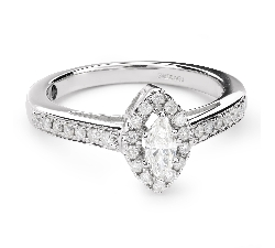 """Teemantidega kuldsõrmus """"Kroon 21"""""""