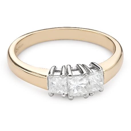 """Teemantidega kihlasõrmus """"Triloogia 36"""""""