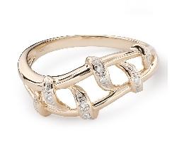 """Teemantidega kuldsõrmus """"Elu 39"""""""