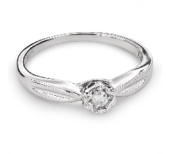 "Engagement ring with brilliant ""Lover 121"""