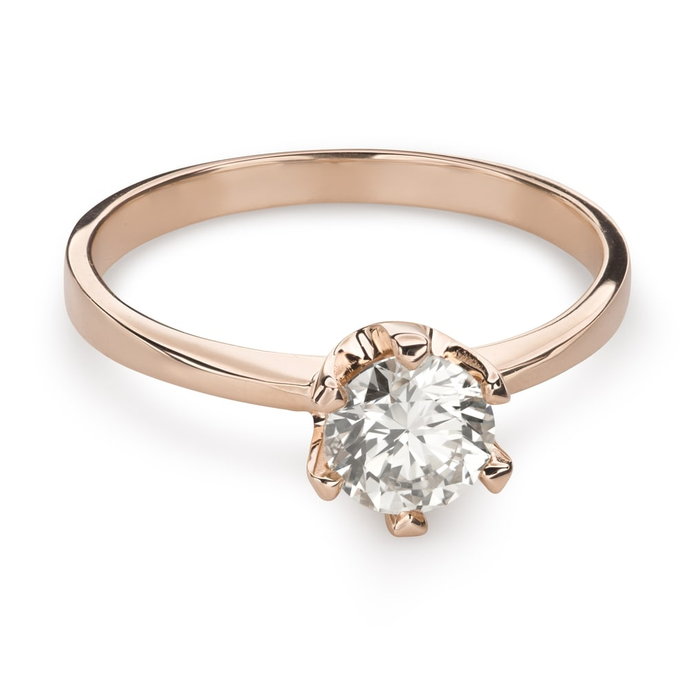 """Engagement ring with brilliant """"Unforgettable 16"""""""