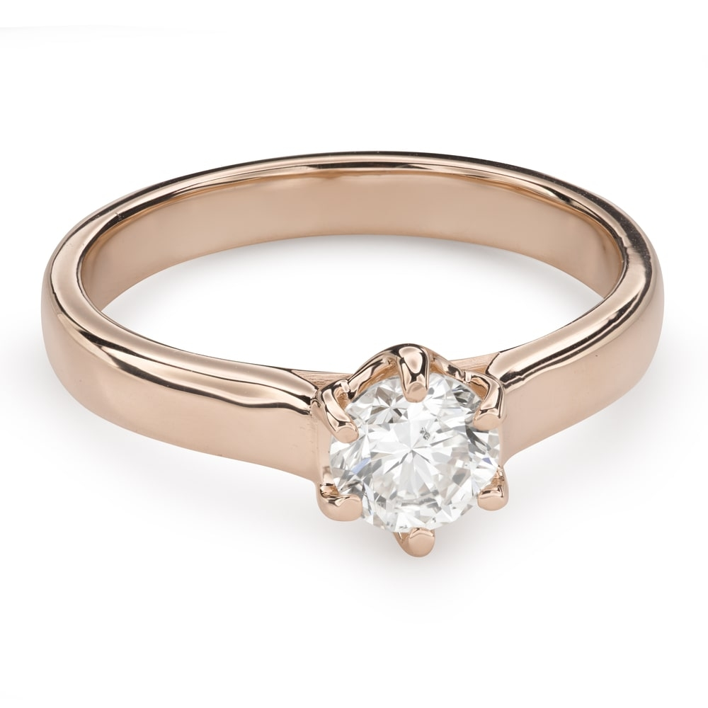 """Engagement ring with brilliant """"Unforgettable 17"""""""