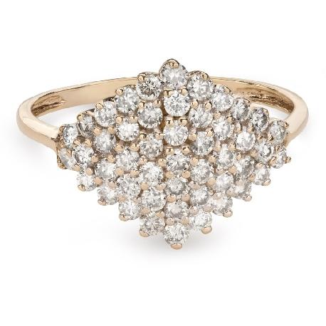 """Briljantidega kuldsõrmus """"Kroon 22"""""""