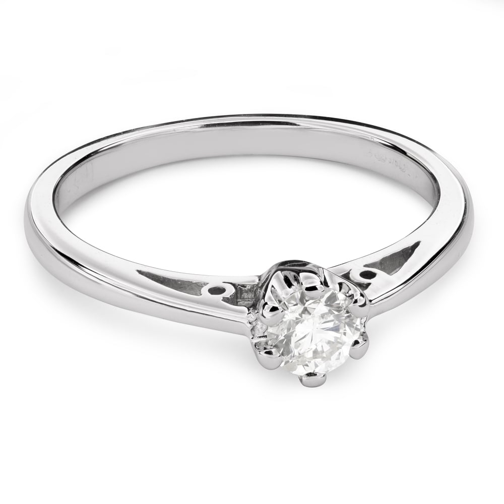 """Engagement ring with brilliant """"The only one 113"""""""