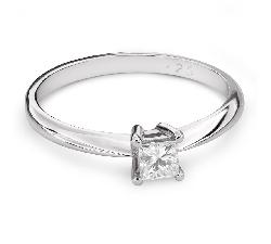 """Teemantiga kihlasõrmus """"Printsess 83"""""""