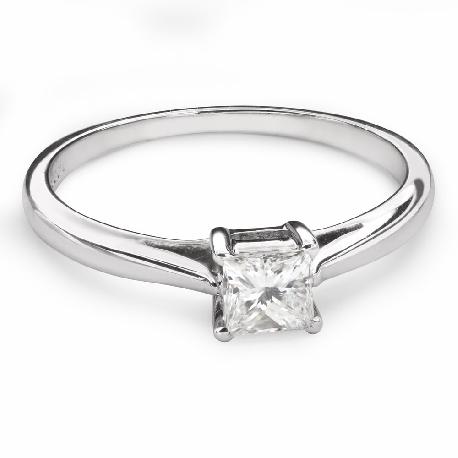 """Teemantiga kihlasõrmus """"Printsess 84"""""""