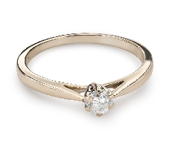 """Engagement ring with brilliant """"Purity 36"""""""