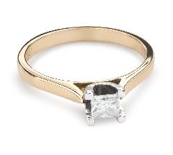 """Teemantiga kihlasõrmus """"Printsess 88"""""""
