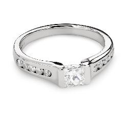 """Teemantiga kihlasõrmus """"Printsess 89"""""""