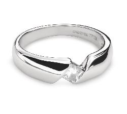 """Teemantiga kihlasõrmus """"Kivide vahel 35"""""""