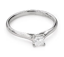 """Teemantiga kihlasõrmus """"Printsess 92"""""""