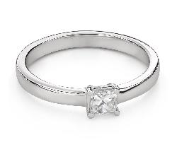 """Teemantidega kihlasõrmus """"Printsess 94"""""""
