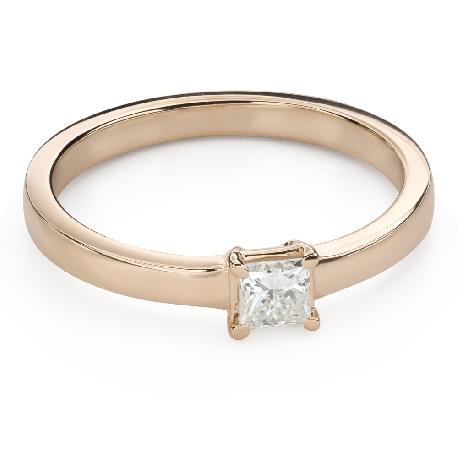 """Teemantidega kihlasõrmus """"Printsess 95"""""""