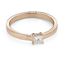 """Teemantidega kihlasõrmus """"Printsess 96"""""""