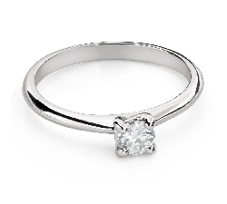 """Engagement ring with brilliant """"Goddess 143"""""""