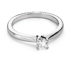 """Engagement ring with brilliant """"Goddess 144"""""""