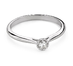 """Engagement ring with brilliant """"Diamond flower 48"""""""