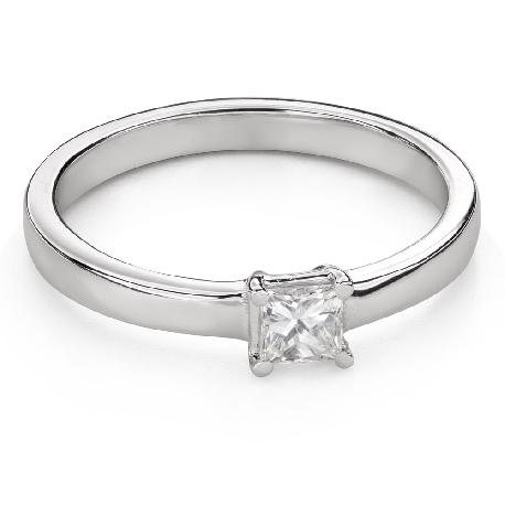 """Teemantidega kihlasõrmus """"Printsess 97"""""""