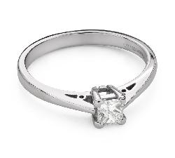 """Teemantidega kihlasõrmus """"Printsess 98"""""""