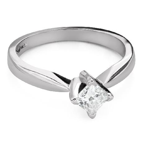 """Teemantiga kihlasõrmus """"Printsess 99"""""""