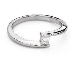 """Teemantiga kihlasõrmus """"Armastuse embus 57"""""""