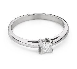 """Teemantidega kihlasõrmus """"Printsess 100"""""""
