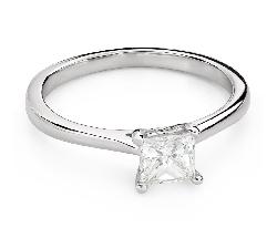 """Teemantidega kihlasõrmus """"Printsess 101"""""""