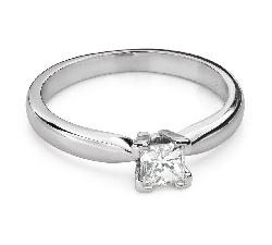 """Teemantidega kihlasõrmus """"Printsess 102"""""""