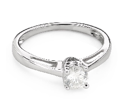 """Engagment ring with brilliants """"Grace 137"""""""