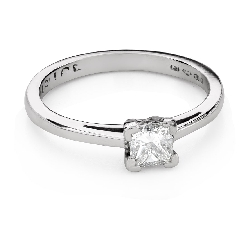 """Engagement ring with diamonds """"Princess 103"""""""